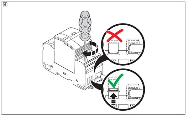Hướng dẫn cách lắp đặt Thiết bị chống sét lan truyền đường nguồn 3 pha, 4 dây (L1, L2, L3, PEN), Bảo vệ cấp Type 1 (bằng hình ảnh)