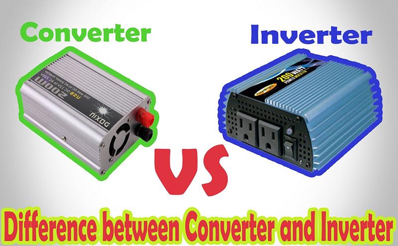 Sự khác nhau giữ Converter và Inverter