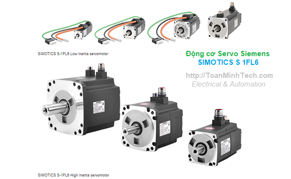 Động cơ Servo Siemens - SIMOTICS S-1FL6 servomotors