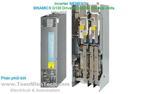 Thông tin chi tiết nhất về Biến tần SINAMICS G130 Drive converter chassis units của SIEMENS