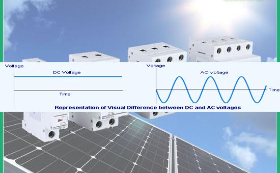 Lưu ý khi sử dụng thiết bị đóng cắt CB cho hệ thống quang điện  mặt trời solar PV: AC vs. DC Breakers