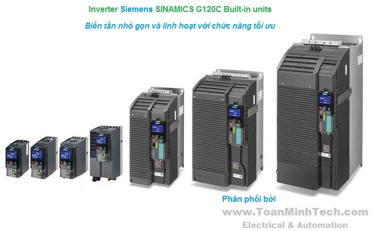 Thông tin chi tiết nhất về Biến tần SINAMICS G120C compact inverters của SIEMENS