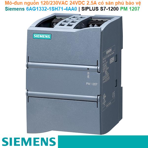Siemens 6AG1332-1SH71-4AA0 | SIPLUS S7-1200 PM 1207 -Mô-đun nguồn 120/230VAC 24VDC 2.5A