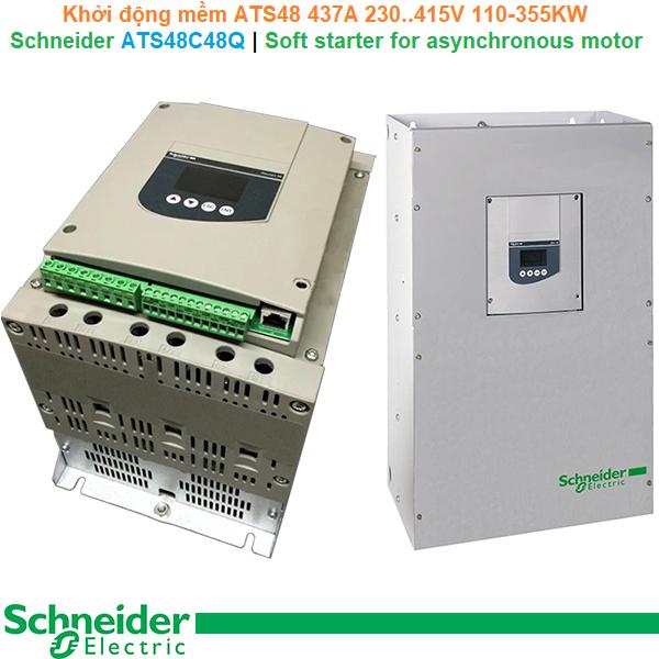 Schneider ATS48C48Q | Soft starter ATS48 -Khởi động mềm 437A 230..415V 110-355KW