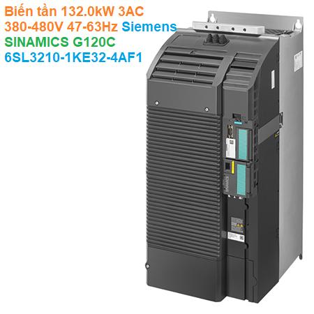 Biến tần 132.0kW 3AC 380-480V 47-63Hz - Siemens - SINAMICS G120C 6SL3210-1KE32-4AF1