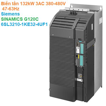 Biến tần 132kW 3AC 380-480V 47-63Hz - Siemens - SINAMICS G120C 6SL3210-1KE32-4UF1