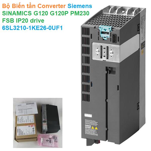 Bộ Biến tần Converter Siemens - SINAMICS G120 G120P PM230 FSB IP20 drive - 6SL3210-1KE26-0UF1