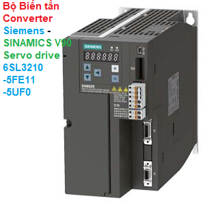 Bộ Biến tần Converter Siemens - SINAMICS V90 Servo drive - 6SL3210-5FE11-5UF0