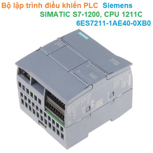 Bộ lập trình điều khiển PLC - Siemens - SIMATIC S7-1200, CPU 1211C 6ES7211-1AE40-0XB0