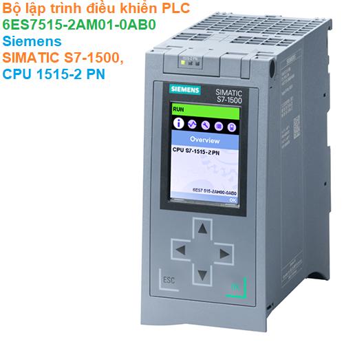 Bộ lập trình điều khiển PLC - Siemens - SIMATIC S7-1500, CPU 1515-2 PN 6ES7515-2AM01-0AB0