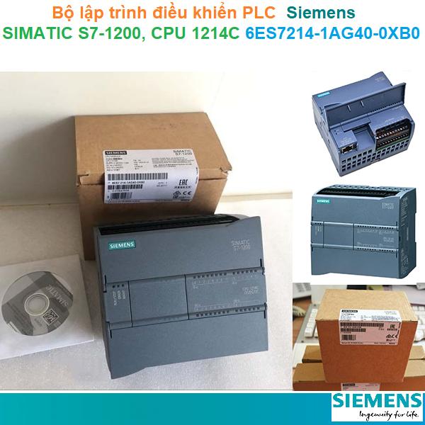 Bộ lập trình điều khiển PLC - Siemens - SIMATIC S7-1200, CPU 1214C 6ES7214-1AG40-0XB0