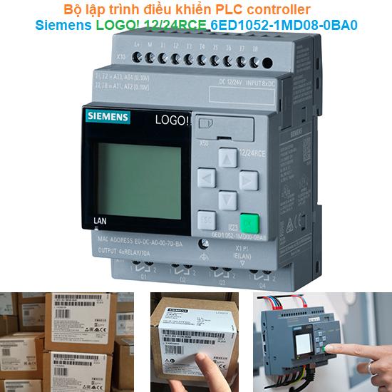 Bộ lập trình điều khiển PLC controller - Siemens - LOGO! 12/24RCE 6ED1052-1MD08-0BA0