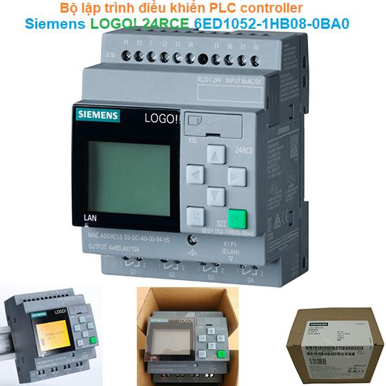 Bộ lập trình điều khiển PLC controller - Siemens - LOGO! 24RCE 6ED1052-1HB08-0BA0