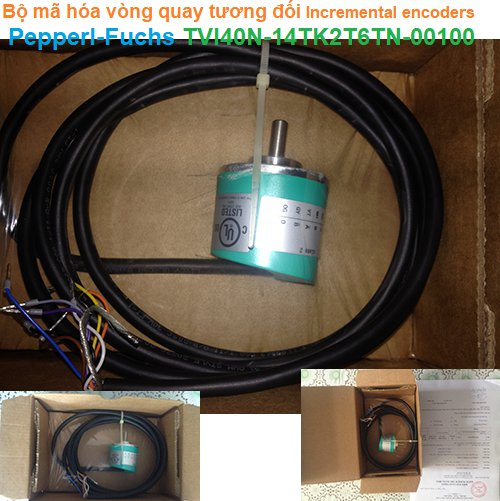Bộ mã hóa vòng quay tương đối Incremental encoders - Pepperl-Fuchs - TVI40N-14TK2T6TN-00100