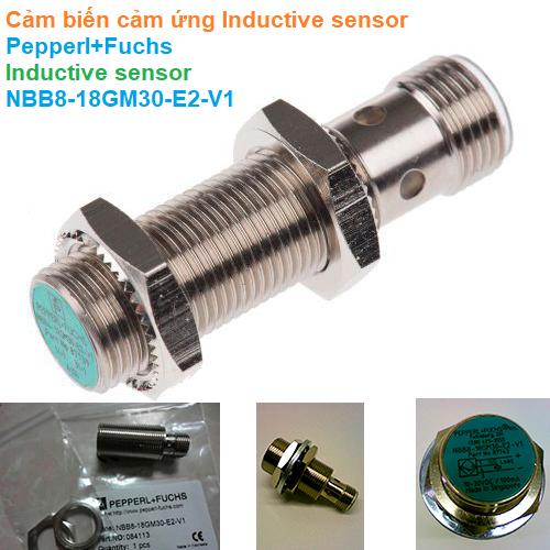 Cảm biến cảm ứng Inductive sensor - Pepperl+Fuchs - Inductive sensor NBB8-18GM30-E2-V1
