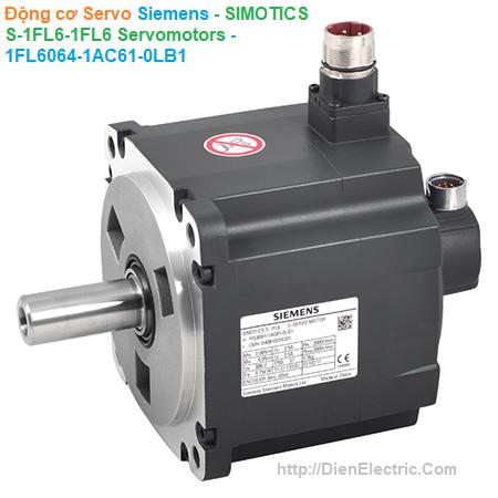 Động cơ Servo Siemens - SIMOTICS S-1FL6 Servomotors - 1FL6064-1AC61-0LB1