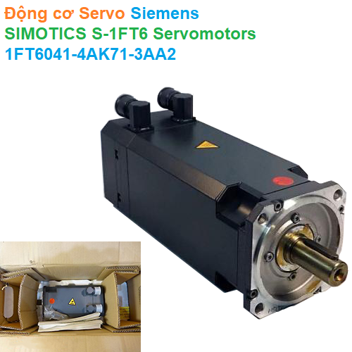 Động cơ Servo Siemens - SIMOTICS S-1FT6 Servomotors - 1FT6041-4AK71-3AA2