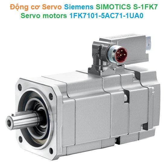 Động cơ Servo - Siemens - SIMOTICS S-1FK7 Servo motors 1FK7101-5AC71-1UA0