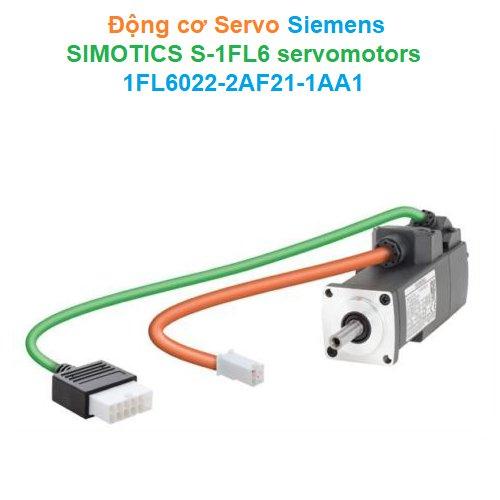 Động cơ Servo Siemens - SIMOTICS S-1FL6 servomotors - 1FL60222AF211AA1