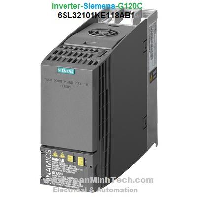 Biến tần Inverter Siemens -  SINAMICS G120C compact inverters - 6SL32101KE118AB1