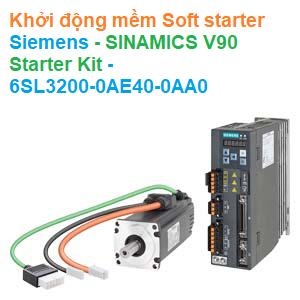 Khởi động mềm Soft starter Siemens - SINAMICS V90 Starter Kit - 6SL3200-0AE40-0AA0