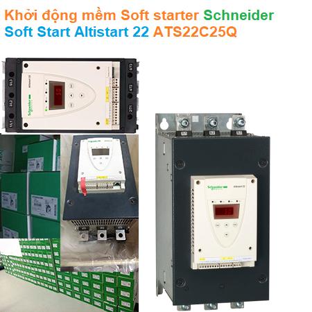 Khởi động mềm Soft starter - Schneider - Soft Start Altistart 22 ATS22C25Q
