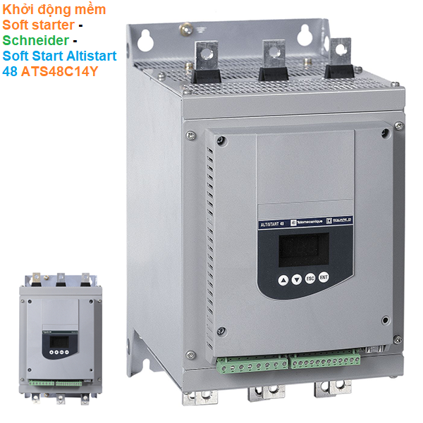 Khởi động mềm Soft starter - Schneider - Soft Start Altistart 48 ATS48C14Y