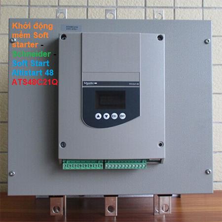 Khởi động mềm Soft starter - Schneider - Soft Start Altistart 48 ATS48C21Q
