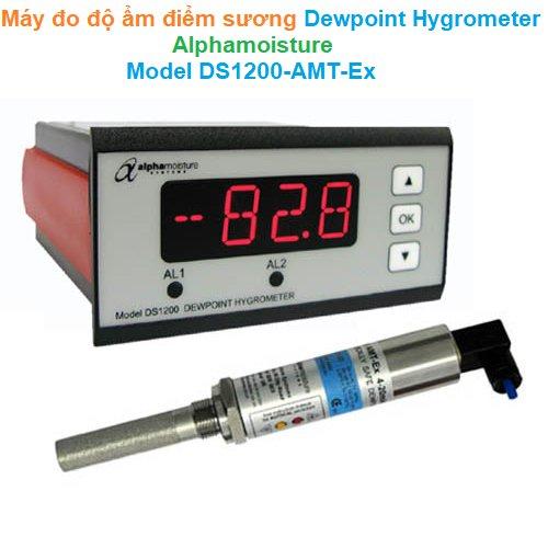 Máy đo độ ẩm điểm sương Dewpoint Hygrometer - Alphamoisture - Model DS1200-AMT-Ex