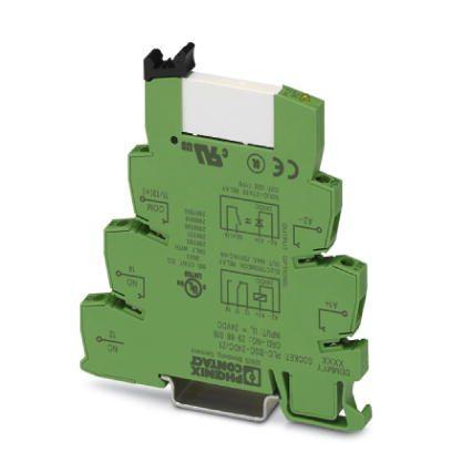 PLC relay 24VDC, 1 cặp tiếp điểm, 6A - Phoenix Contact - Relay Module - PLC-RSC-24DC/21