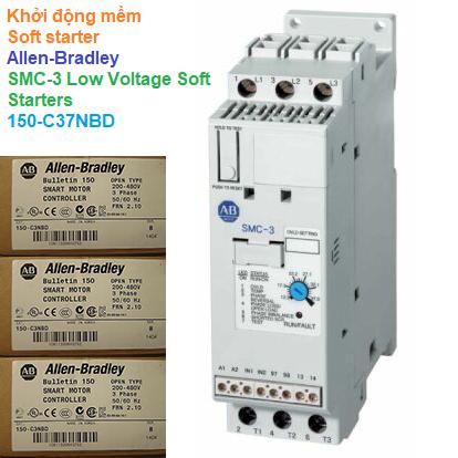 Khởi động mềm Soft starter - Allen-Bradley - SMC-3 Low Voltage Soft Starters 150-C37NBD