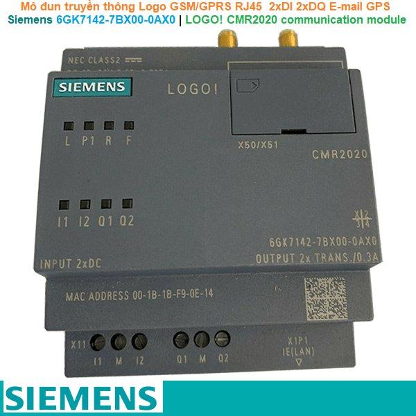 Siemens 6GK7142-7BX00-0AX0   LOGO! CMR2020 communication module -Mô đun truyền thông Logo