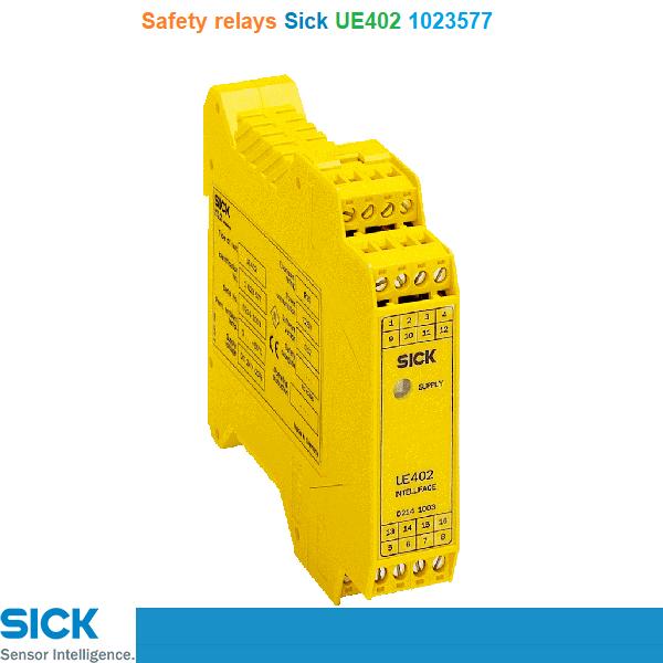 Sick UE402 1023577 Safety relays Rơ le an toàn