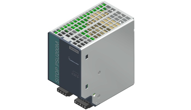 Bộ nguồn 24vDC 10A 1&2AC 120/230-500V - Siemens - SITOP PSU820024 V/10A - 6EP1334-3BA10