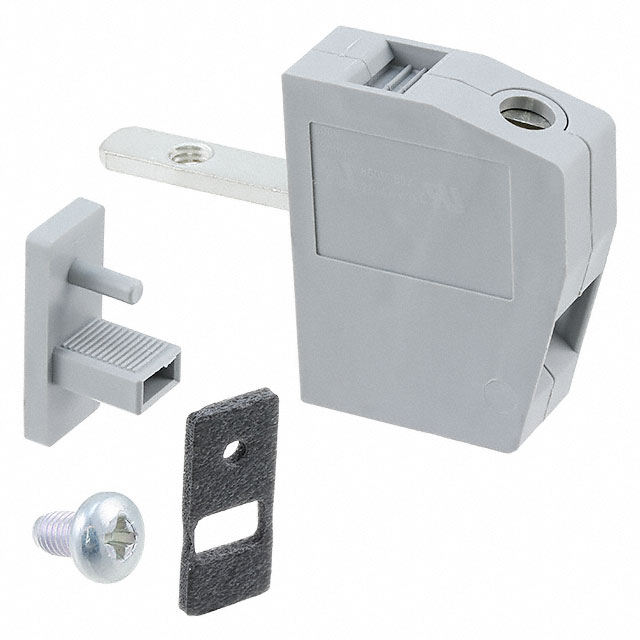 01 Cầu đấu nối dây điện gắn trên panel  6mm2 41A - Phoenix Contact - Panel feed-through terminal block - HDFK 4 - 0707086