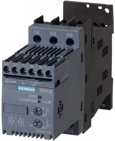 01 Khởi động mềm Soft starter 9A 4kW 400V 110-230vAC/DC - Siemens - 3RW3016-1BB14