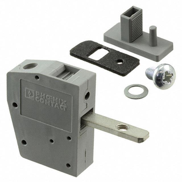 02 Cầu đấu nối dây điện gắn trên panel  6mm2 41A - Phoenix Contact - Panel feed-through terminal block - HDFK 4 - 0707086