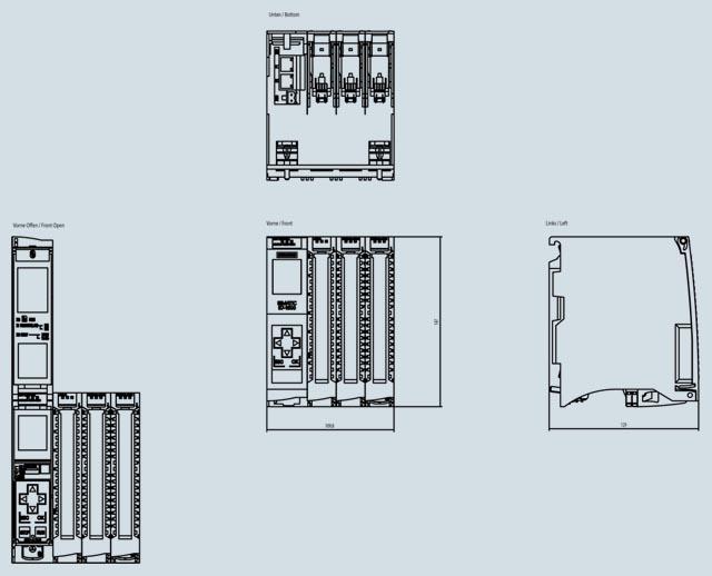 03 Bộ lập trình điều khiển PLC - Siemens - SIMATIC S7-1500, CPU 1512C-1 PN 6ES7512-1CK01-0AB0