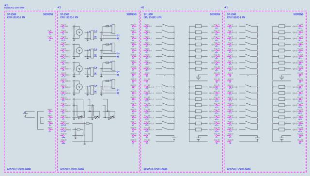04 Bộ lập trình điều khiển PLC - Siemens - SIMATIC S7-1500, CPU 1512C-1 PN 6ES7512-1CK01-0AB0