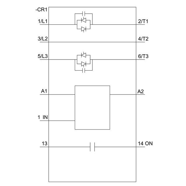 04 Khởi động mềm Soft starter 12.5A 5.5kW 400V 24VAC/DC - Siemens - 3RW3017-1BB04