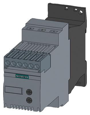 04 Khởi động mềm Soft starter 12.5A 5.5kW 400V 110-230vAC/DC - Siemens - 3RW3017-1BB14