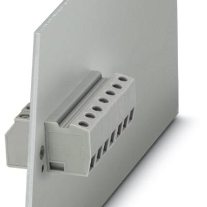 06 Cầu đấu nối dây điện gắn trên panel  6mm2 41A - Phoenix Contact - Panel feed-through terminal block - HDFK 4 - 0707086