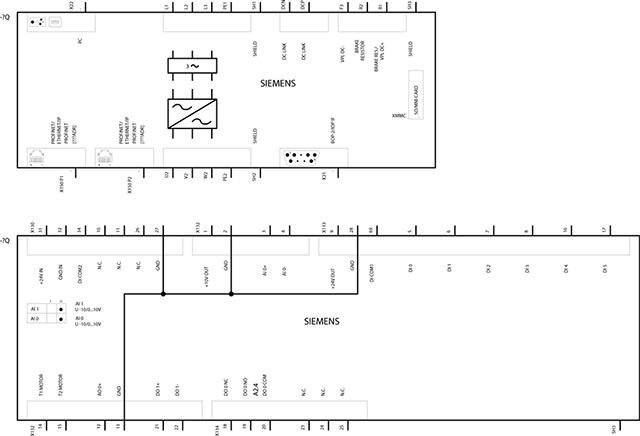 Biến tần Inverter Siemens - SINAMICS G120C 55.0kW 3AC 380-480V 47-63Hz -6SL3210-1KE31-1AF1