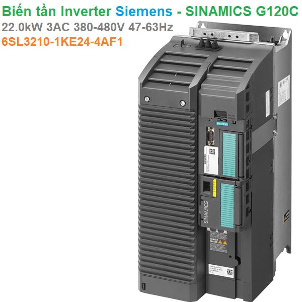 Biến tần Inverter Siemens - SINAMICS G120C 22.0kW 3AC 380-480V 47-63Hz -6SL3210-1KE24-4AF1
