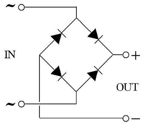 Chỉnh lưu cầu 4 diode