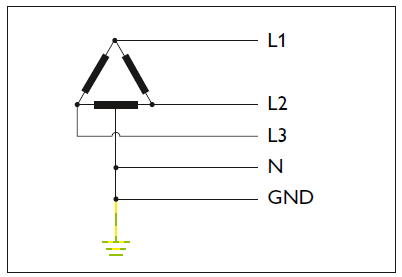 Delta system (high-leg)