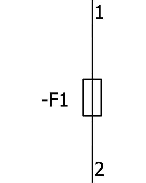 Diagram Cầu chì Fuse 50A 500vAC 250vDC - Siemens - LV HRC fuse 3NA3820