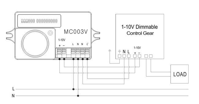 01 Hướng dẫn đấu nối dây Cảm biến chuyển động tự động tăng-giảm độ sáng đèn Automatic dimming motion sensor - Merrytek - MC003V/R