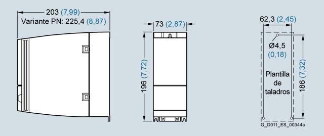 Biến tần Inverter Siemens - SINAMICS G120C 0.75kW 3AC 380-480V47-63Hz - 6SL3210-1KE12-3AP2