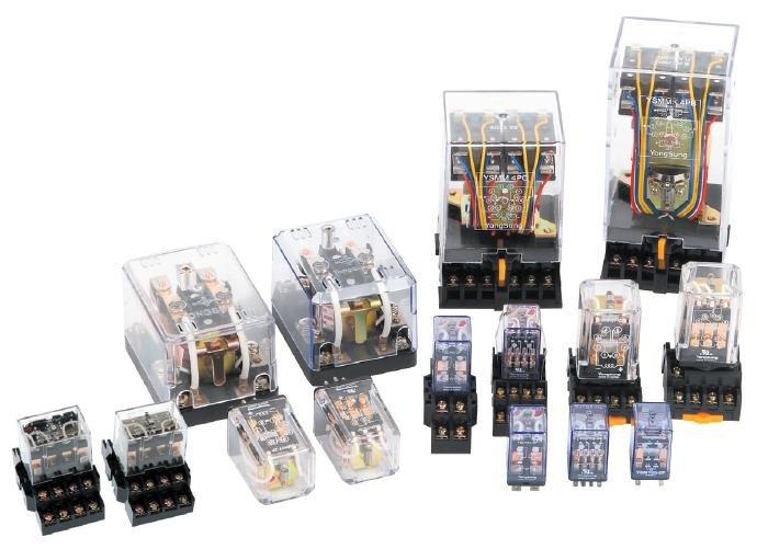 Phân loại relay trung gian (kiếng)